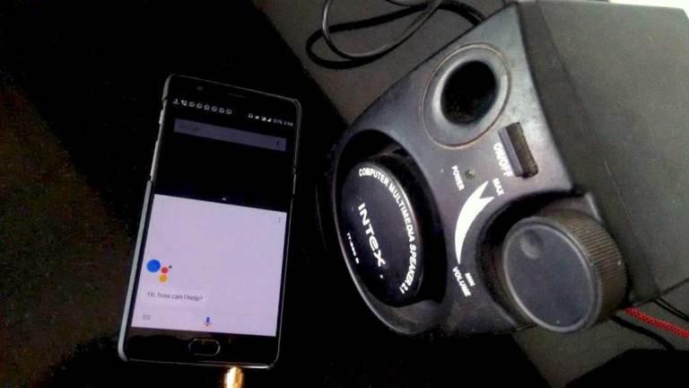 convert smartphone google home