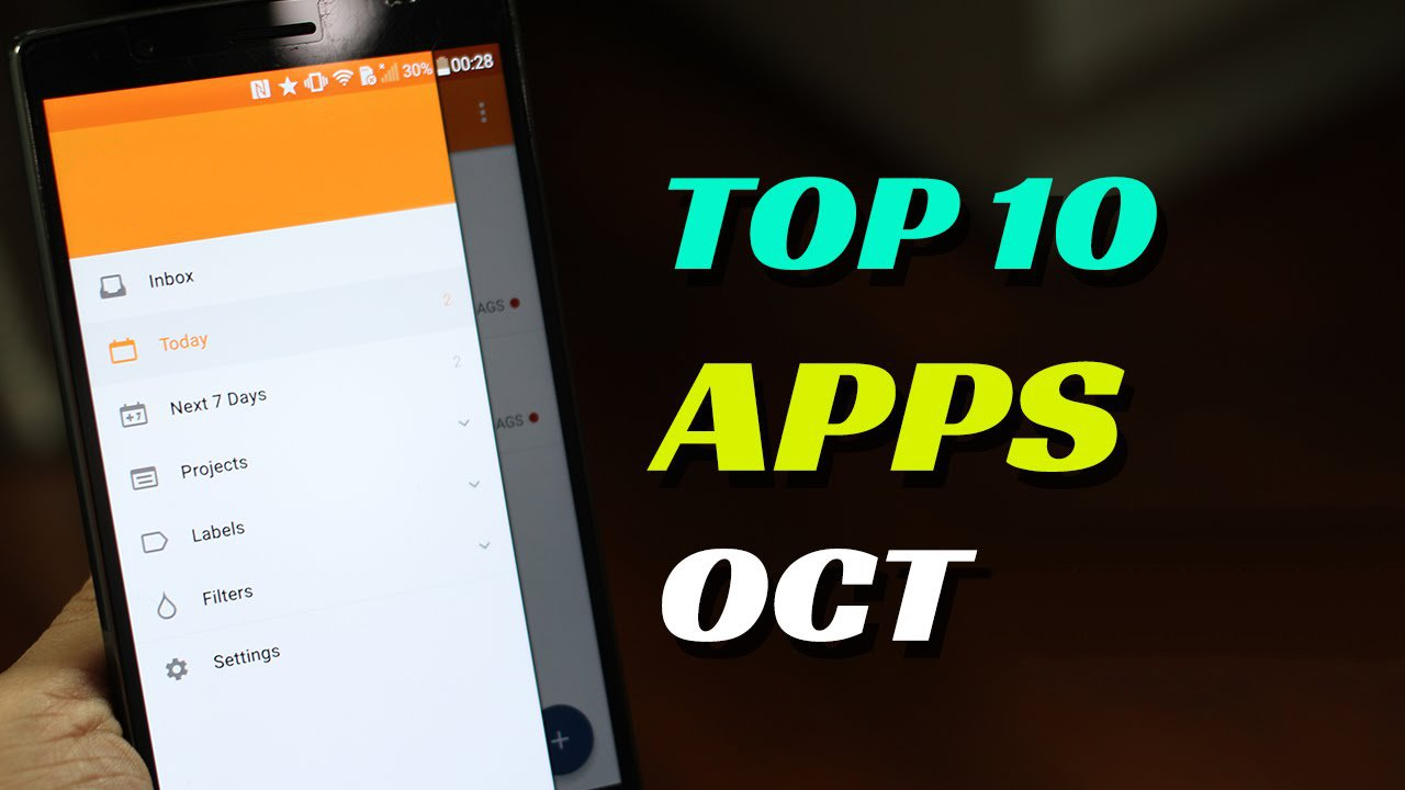 Top 10 best free apps