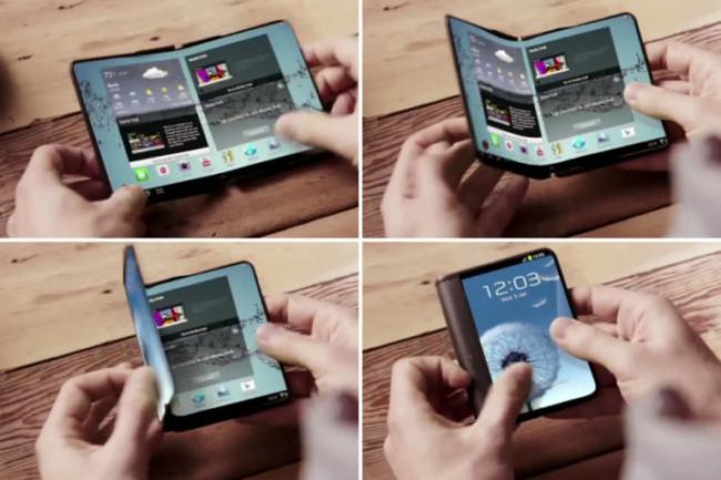 flexible display phone
