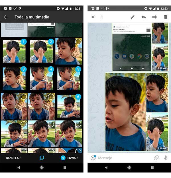 organize the photos of your Telegram