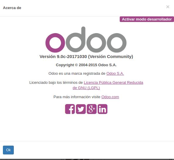 install Odoo with docker